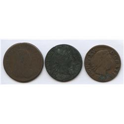 France - Lot of 3