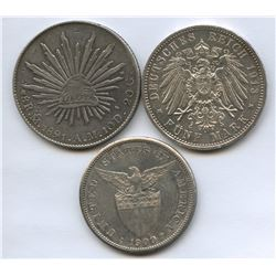 Germany, Mexico & Philippines - Lot of 3