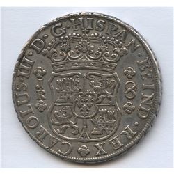 Carlos III, 8 Reales, 1769, POTOSI