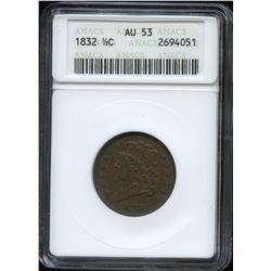 USA 1832 Classic Head Half Cent