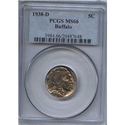 USA 1938-D Buffalo Nickel