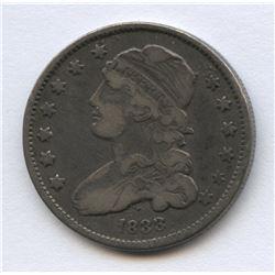 USA 1833 Capped Bust Quarter Dollar
