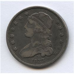 USA 1833 Capped Bust Quarter Dollar