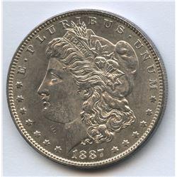 USA 1887 Morgan Dollar