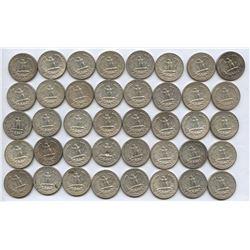 USA 90% Silver Quarter Roll
