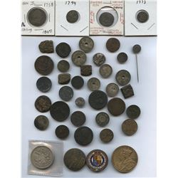 Nice Foreign Coin/Medal Group