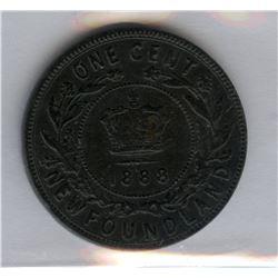 1888 Newfoundland One Cent