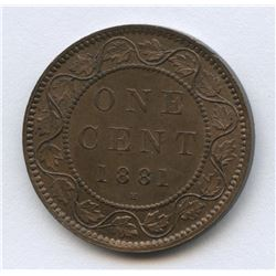 1881H One Cent