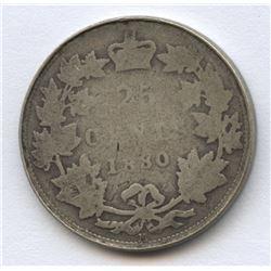 1880 Twenty-Five Cents