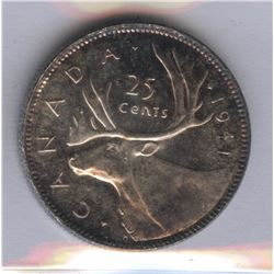 1941 Twenty-Five Cents