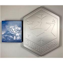 2006 Snowbirds $5 & 2016 Canada's Icy Arctic $200 Pure Silver Coins