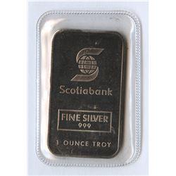 Classic Johnson Matthey Scotiabank 1 ounce Bar