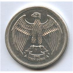 Silverado Certified Mint 1 Oz Fine Silver Round