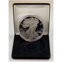 2009 Large Quarter Pound 4oz Fine Silver Eagle Round w/Certificate of Authenticity