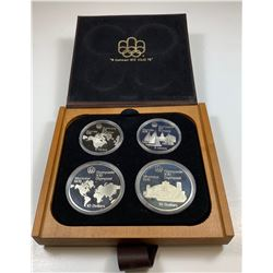1976 Olympic Sterling Silver Set - Series 1