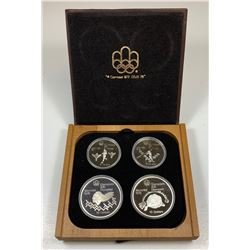1976 Olympic Sterling Silver Set - Series 4