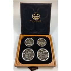 1976 Olympic Sterling Silver Set - Series 5
