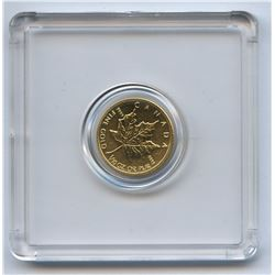 2013 Canadian 1/10 Gold Maple Leaf $5 Coin