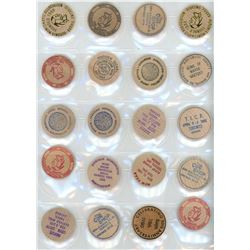 Unparalleled Collection of Wooden Tokens with over 975 woods from Canada and the World - Part #1