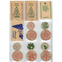 Unparalleled Collection of Wooden Tokens with over 675 woods from Canada and the World - Part #2
