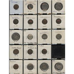 Canadian Error and Variety Lot of 58 Coins