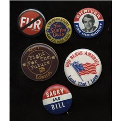United States of America Political Pins - Lot of 6