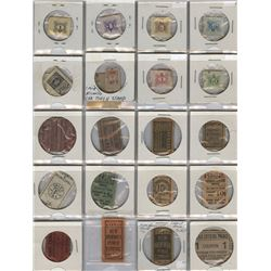 Collection of Bus Tickets & Tokens - Lot of 48 Pieces