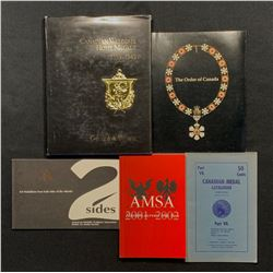Canadian Medals Books