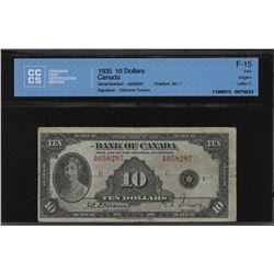 Bank of Canada $10 1935 English