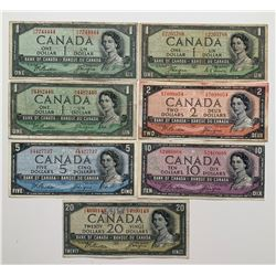 Bank of Canada 1954 Devil's Face Collection