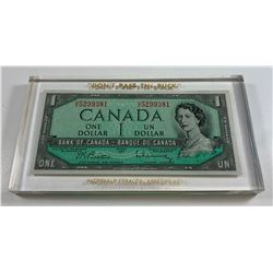 Bank of Canada $1, 1954 - Promotional Item