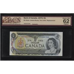Bank of Canada $1 1973 *MC Replacement