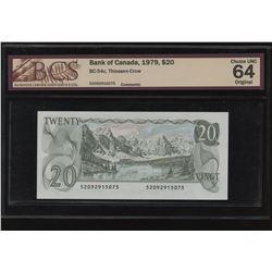 Bank of Canada $20 1979 Unc 64