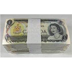 Bank of Canada $1 1973 Uncirculated Brick
