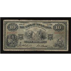 The Bank of Nova Scotia $10, 1935