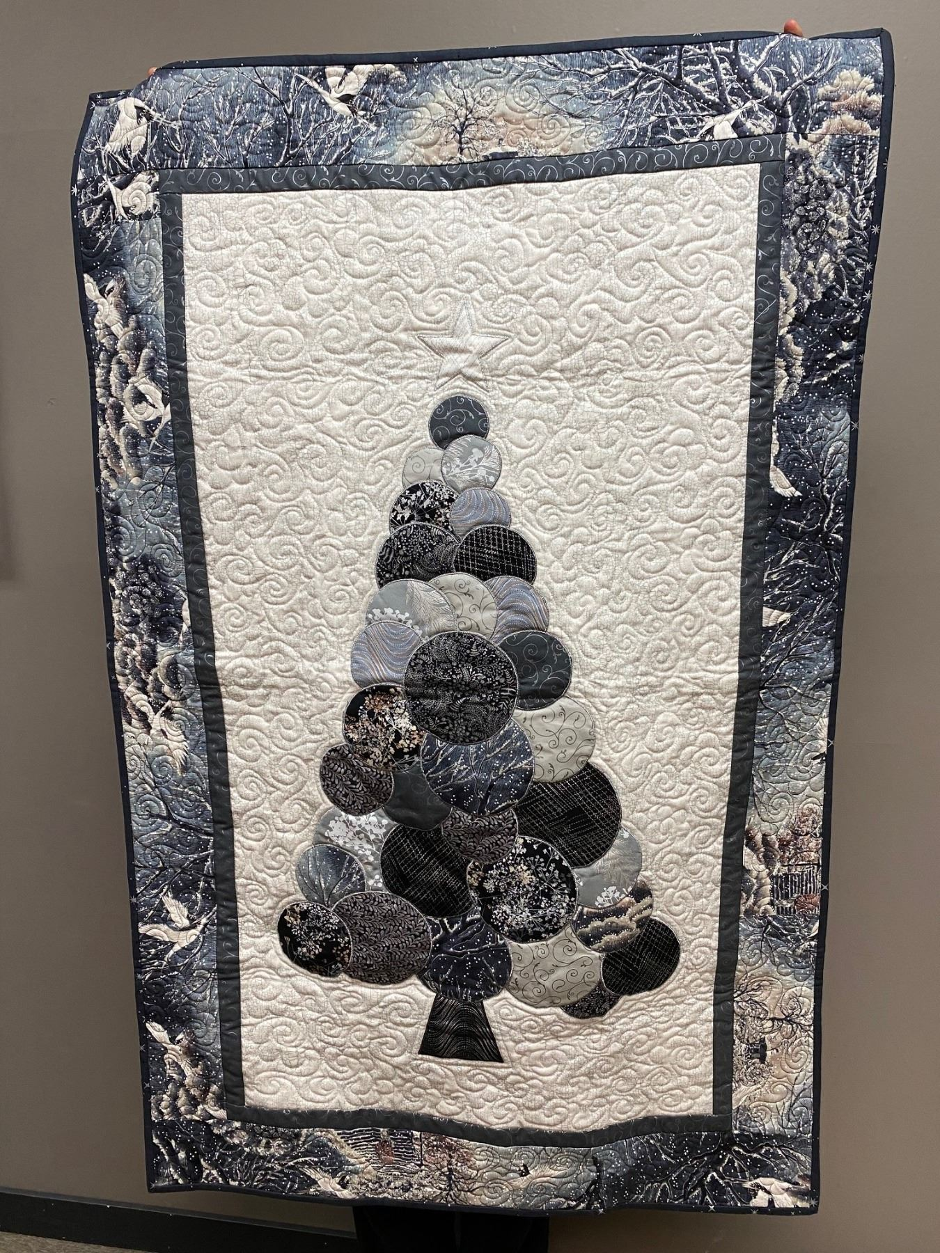 Stunning Quilted Wall Hanging
