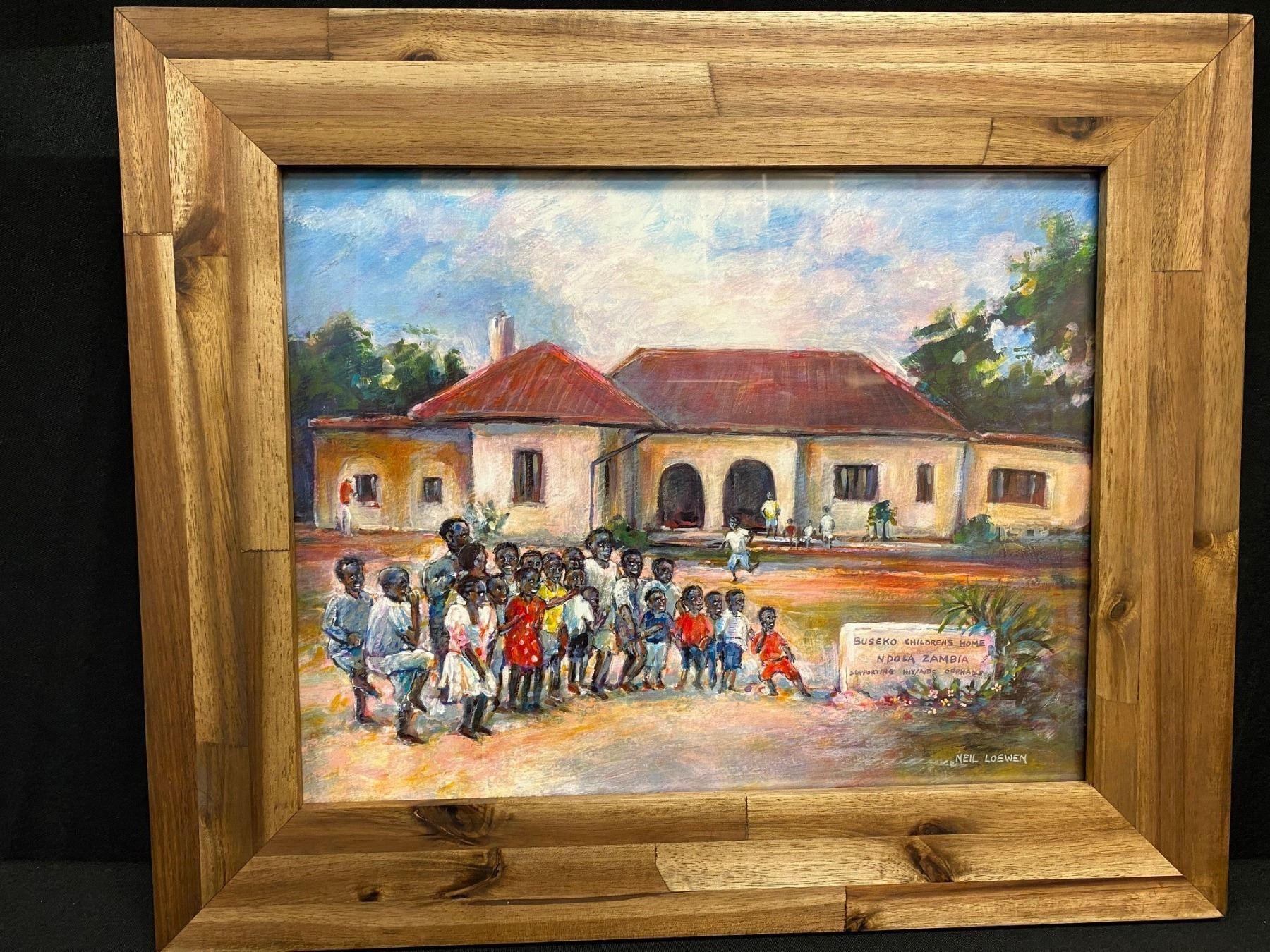 10 x 13 Framed Print  - Buseko Home