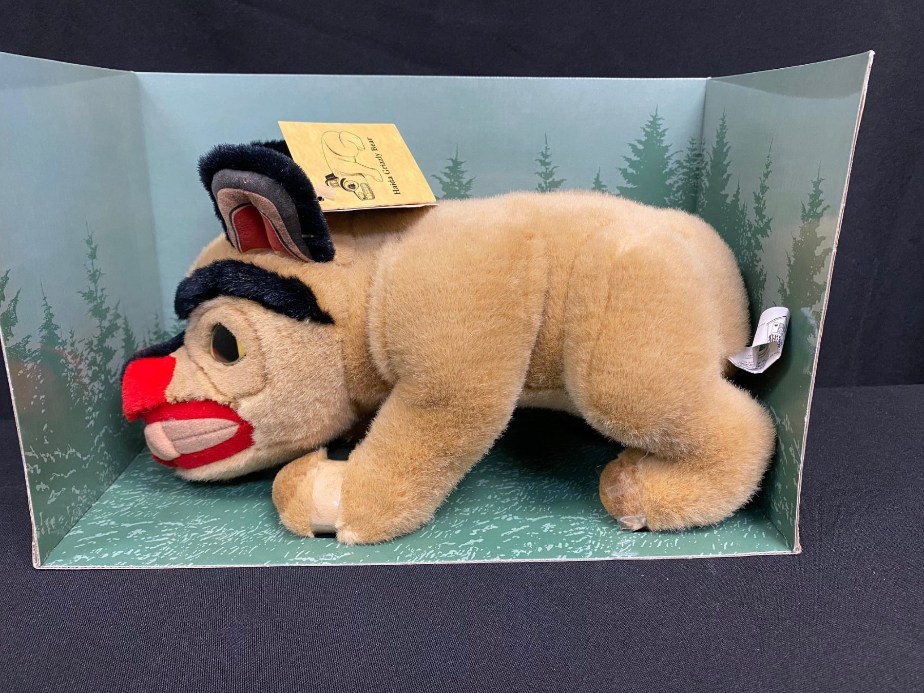 Collector Item:  14  Bill Reid's Haida Bear