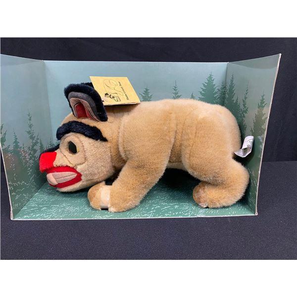 "Collector Item:  14"" Bill Reid's Haida Bear"