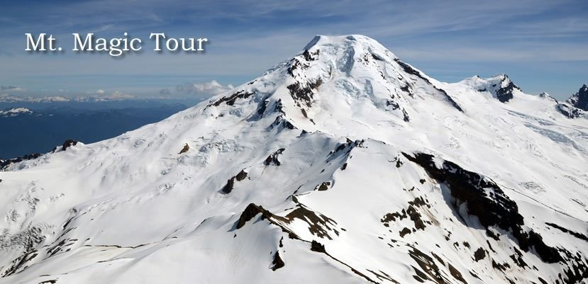 Mt. Magic Tour Scenic Flight for 3 People