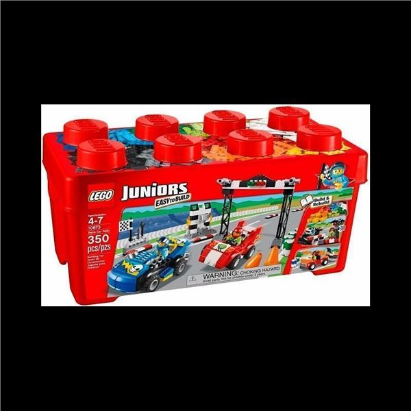 Lego Juniors Set Race Car Rally