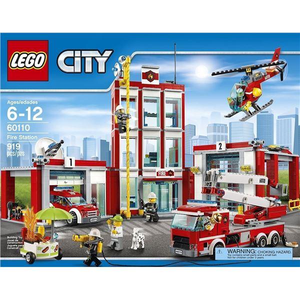 Lego City Set #60110 Fire Station