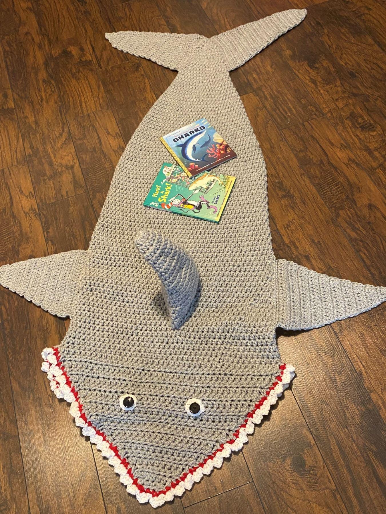 Shark Tail Sack/Blanket