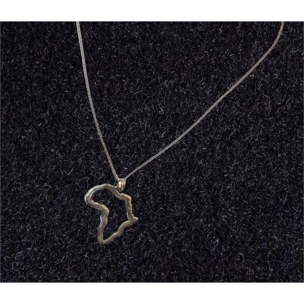Silver Zambia Necklace