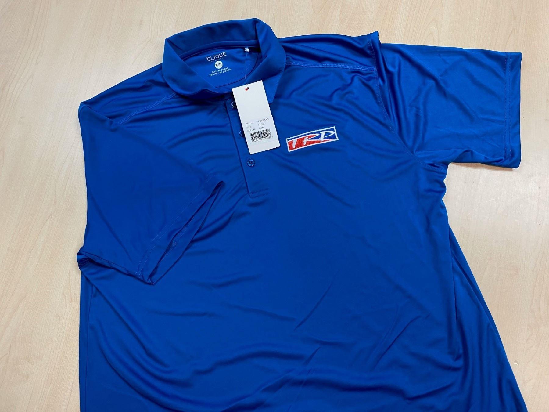 Men's Blue Clique Polo Short