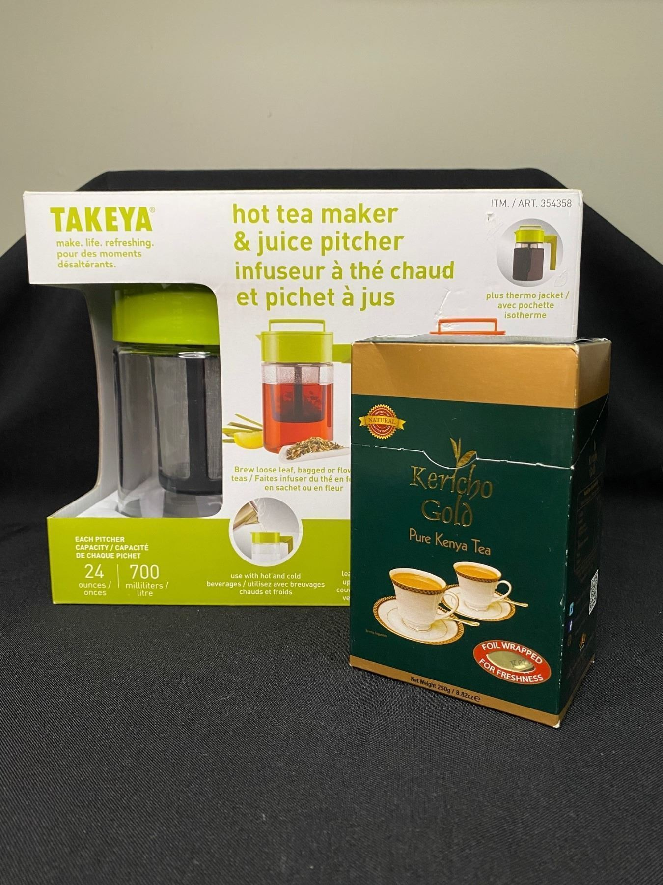 Takeya Hot Tea Maker & Juice Pitcher