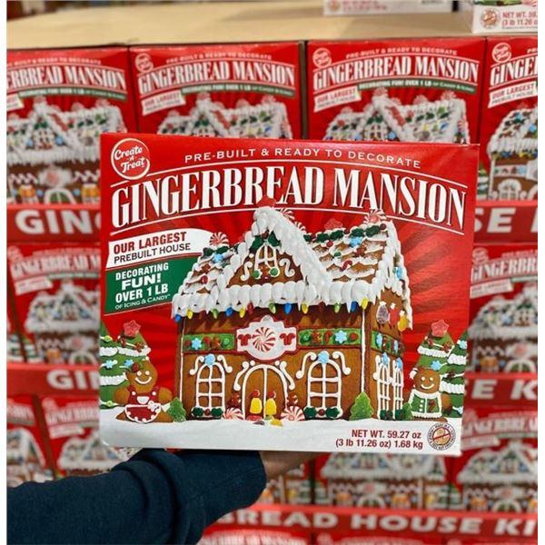 Gingerbread Mansion Kit