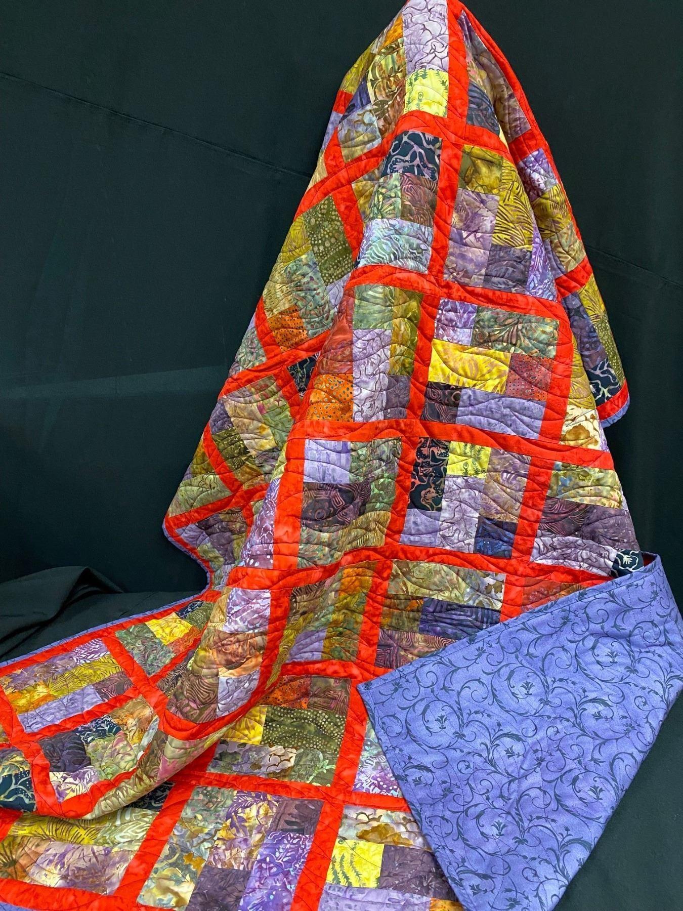 Multicoloured Heirloom Quilt