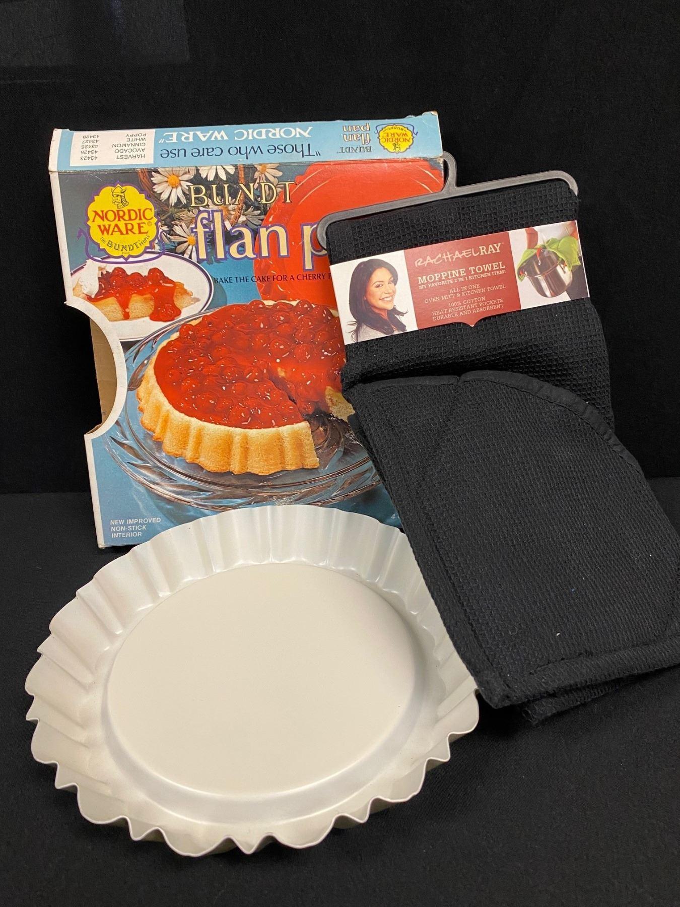 Flan Pan & Mopping Towel