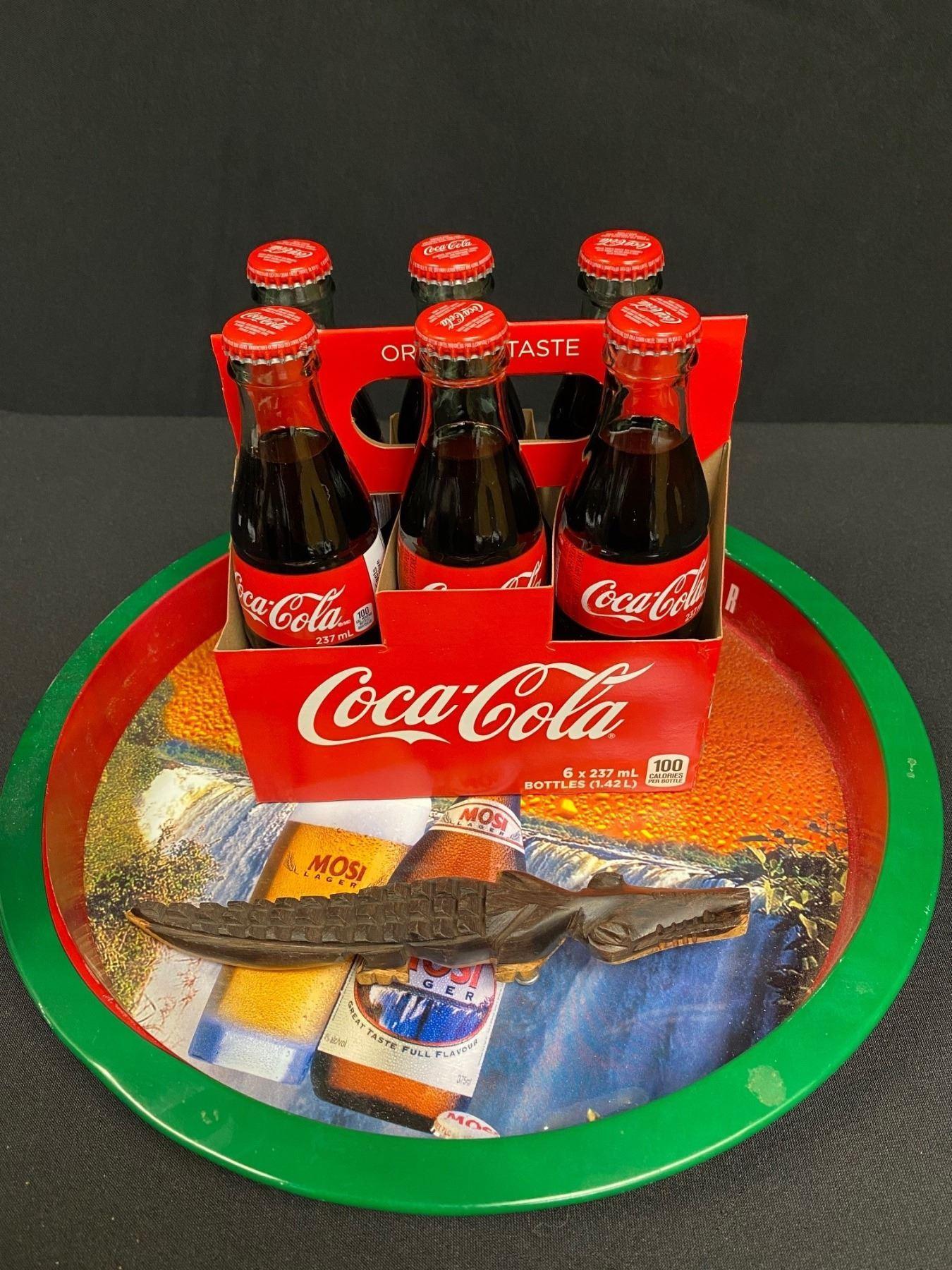 Zambia Tray, CocaCola, Bottle Opener